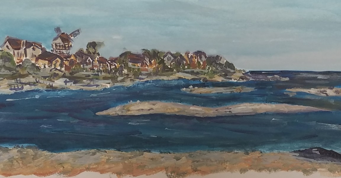 Plein Air beach in Cape Cod